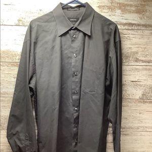 Claiborne - T-Weave - L/S Button Down Shirt
